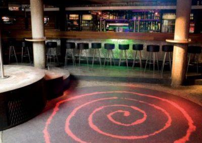พื้นอะคริลิค Acrylic Design Floors