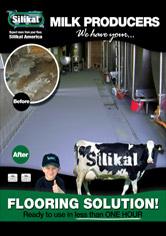 Milk Production & Tank Areas